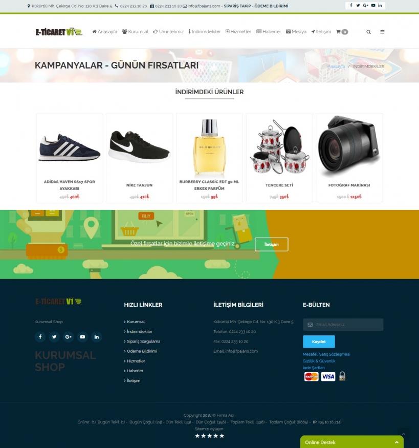 Online alışveriş sitesi İndirimdekiler