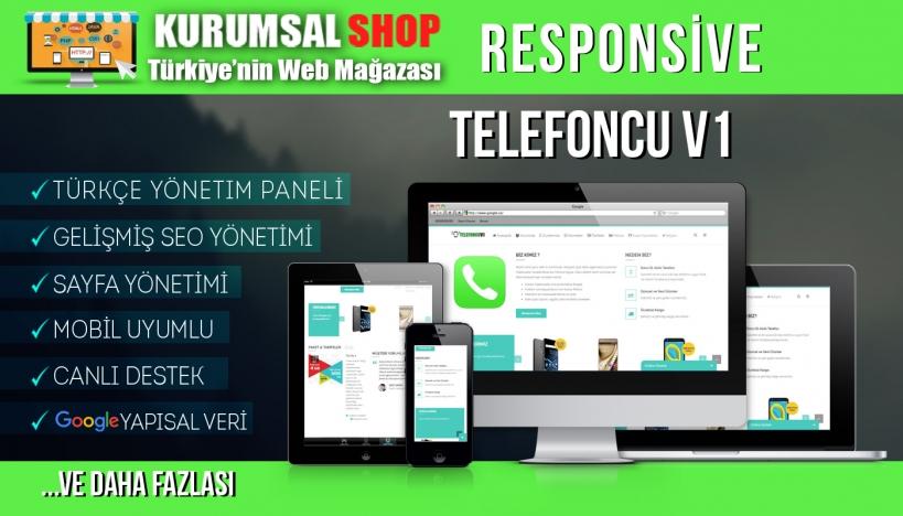 Kurumsal Shop - Telefoncu V1