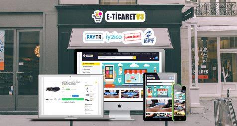 Kurumsal E-Ticaret V3 - Kurumsal ETicaret Yazılımı