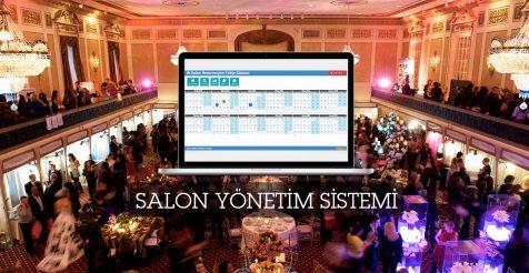 Salon Yönetim Sistemi - Düğün Salonu Programı