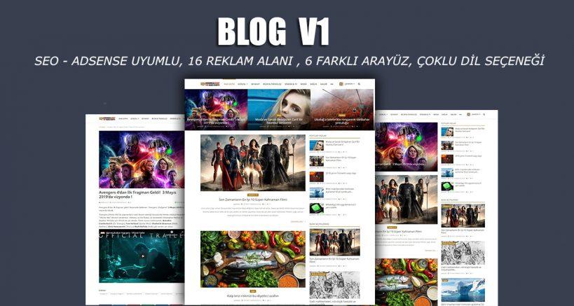 Blog Scripti - Magazin Scripti - Seo Adsense Uyumlu