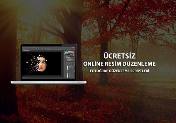 Online Resim Düzenleme - Fotoğraf Düzenleme Scriptleri