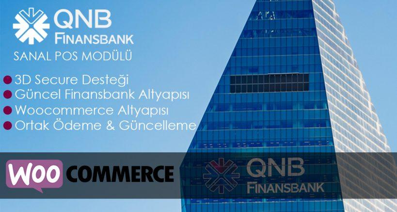 Woocommerce QNB Finansbank Sanal Pos Modülü