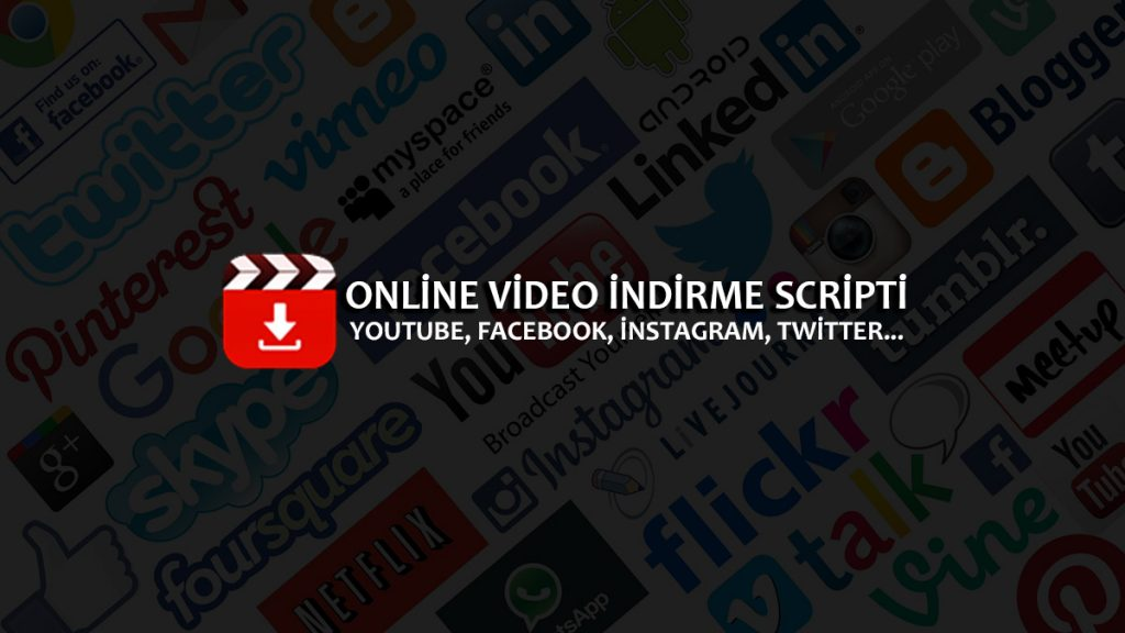 Online Video İndirme Scripti